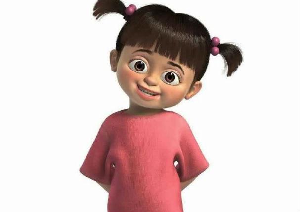 Boo' la niña de 'Monsters Inc' existe en la vida real (FOTOS ...