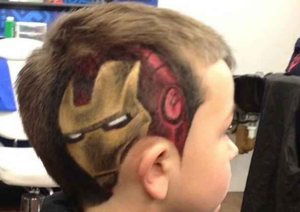 Corte de cabello con fuego peru