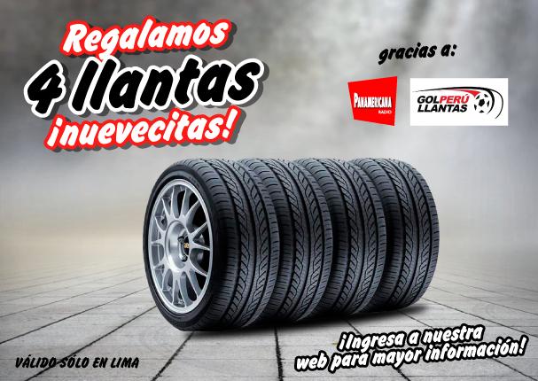 Radio Panamericana y GolPerú Llantas premian tu sintonía