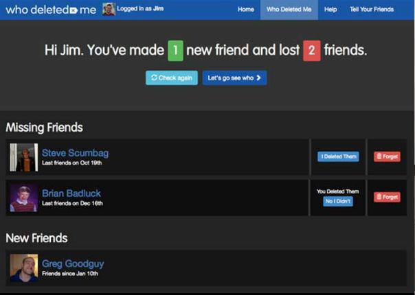 Con esta aplicación podrás saber quién te eliminó de Facebook