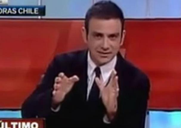Mira cómo periodistas chilenos comentaron en vivo durante terremoto (VIDEO)