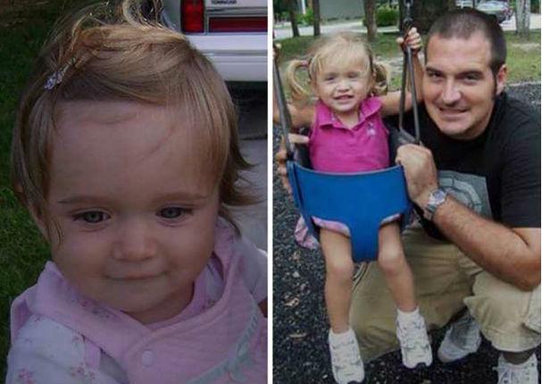 Él aprendió a peinar a su hija y decidió enseñarle a otros padres (FOTOS)