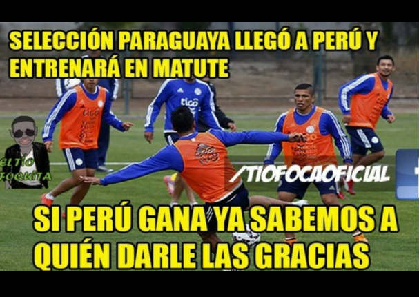 Mira los memes que calientan el Perú – Paraguay