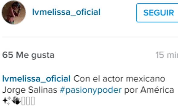 Difunden comprometedora foto de Melissa Loza con reconocido actor mexicano