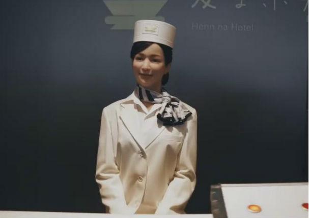 YouTube: ¿Un hotel atendido por robots? Te presentamos el Henn-na Hotel