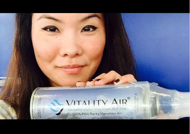 ¡Insólito! Empresa vende aire embotellado a China (VIDEO)