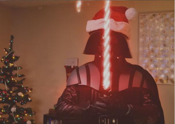 YouTube: ¿Qué haría Darth Vader si fuera Santa Claus? Ni te imaginas...