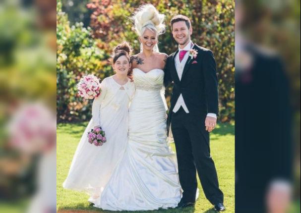 Pareja quería bajar de peso para su boda y sorprendieron con nueva figura (FOTOS)