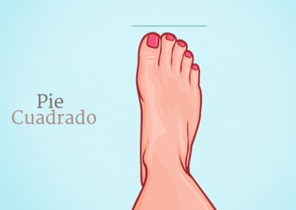Averigua tu personalidad de acuerdo a la forma de tu pie