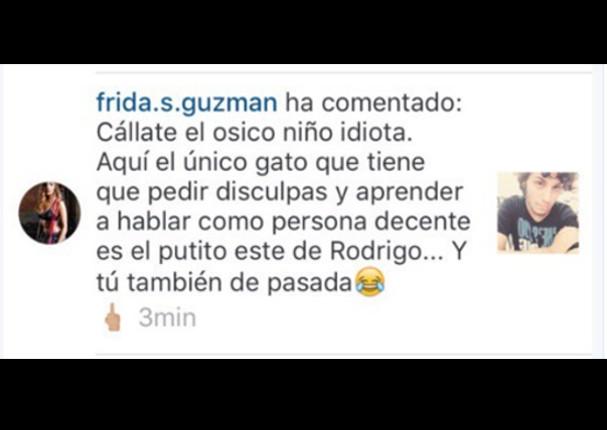 Alejandra Guzmán Su Hija Frida Sofía Ofende A Los Peruanos En