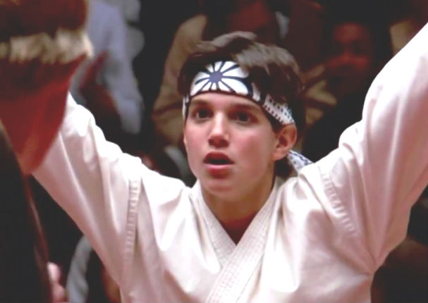 Karate Kid Ralph Macchio Crane Karate Kid: Mira c&#24...