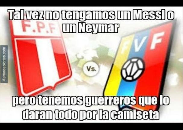 Perú vs Venezuela: Memes previos al partido por las eliminatorias