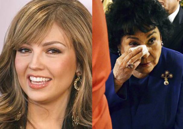 Thalía: Laura Zapata defendió así a Carmen Salinas tras declaraciones de su hermana