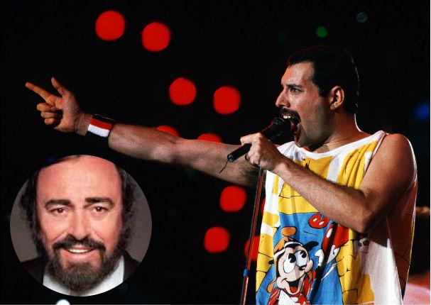 ¿Freddie Mercury tuvo mejor voz que Luciano Pavarotti?