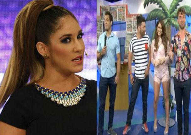 Tilsa Lozano cuadra a panelista de Espectáculos y corta llamada en vivo (VIDEO)