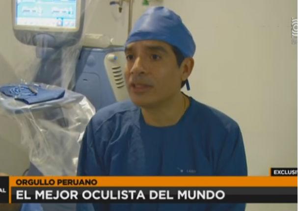 ¡Orgullo nacional! Mejor oftalmólogo del mundo es peruano (VIDEO)