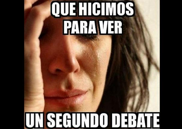 Debate Presidencial: Ríete con los mejores memes del encuentro entre Keiko y PPK (FOTOS)