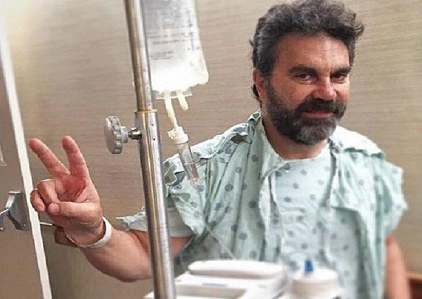 Manuel Mijares se sometió a delicada cirugía cervical (FOTOS)