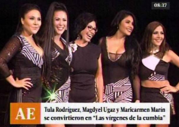 Magdyel Ugaz y Maricarmen Marín volvieron a ser Las Vírgenes de la Cumbia