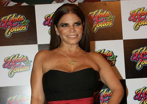 Sandra Arana dejó Hola a Todos en plena transmisión en vivo (VIDEO)