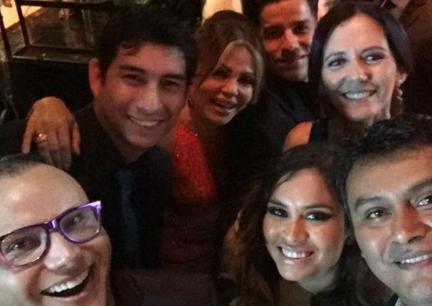 Actores de Las Amazonas asistieron a la inauguración de Estudios América en Pachacámac