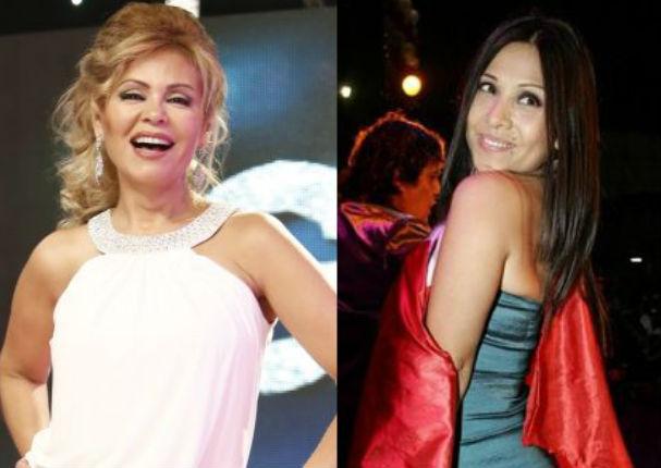 Gisela Valcárcel y Tula Rodríguez se divierten en fiesta de América Televisión