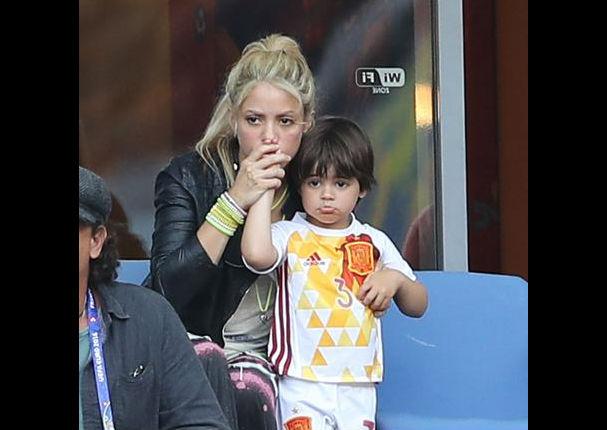 Shakira: Así fue su reacción ante la derrota de España en la Eurocopa