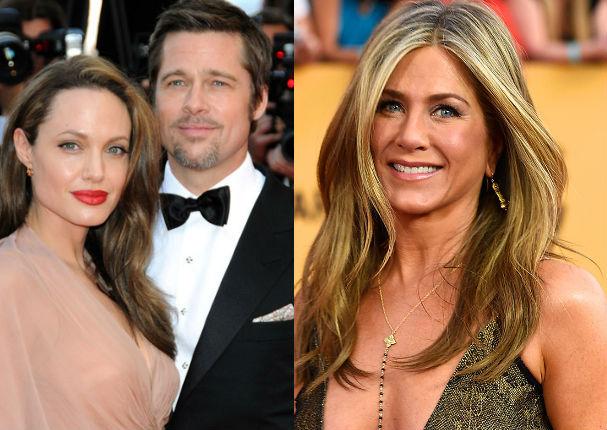 Angelina Jolie y Brad Pitt: Jennifer Aniston sería la culpable de su crisis matrimonial