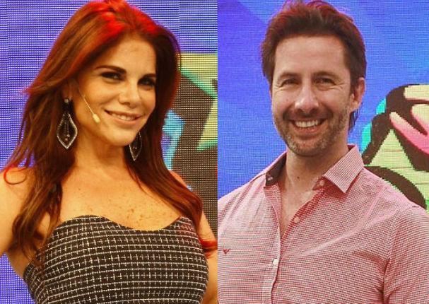 Hola a Todos: Sandra Arana y Marco Zunino se besan en vivo