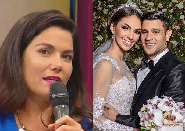 Yaco Eskenazi y Natalie Vértiz: Daniela Cilloniz revela esto de su boda