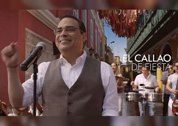 Gilberto Santa Rosa dedicó esta canción al Callao por su aniversario