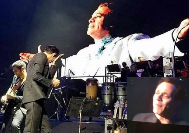 Juan Gabriel: Marc Anthony llora en vivo al cantar tema del 'Divo de Juárez'
