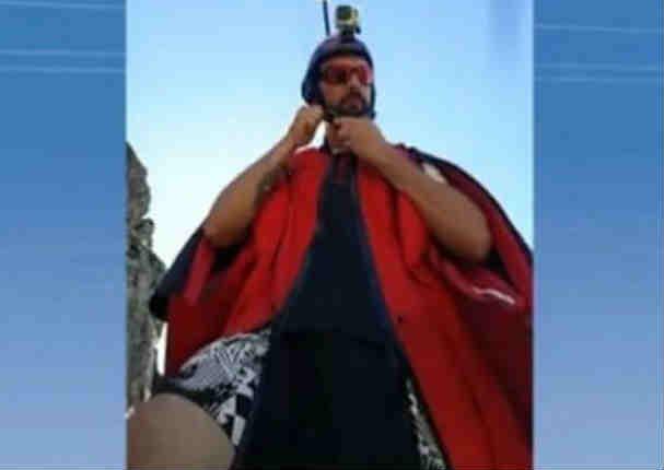 YouTube:   Murió paracaidista que transmitía su salto extremo en vivo