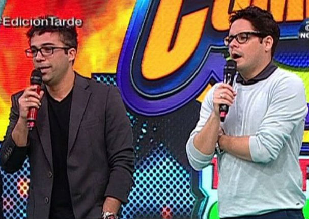 Gian Piero Díaz y Renzo Schuller: Así fueron presentados en ATV