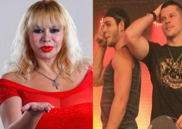 Susy Díaz manda foto semidesnuda a Mario Hart e Mario Irivarren