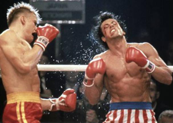 ¡Queee! Rocky Balboa fue noqueado por esta cantante - VIDEO