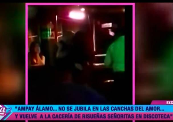 ¡Noche de soltería! Así fue el ampay de Álamo Pérez Luna - VIDEO