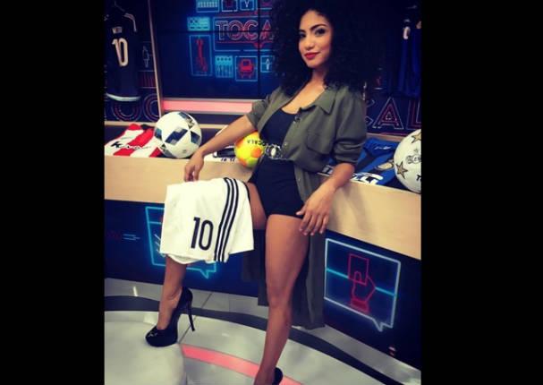 Sexy presentadora de programa deportivo es la sensación en Argentina - VIDEO