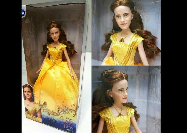 ¡Emma Watson  ya tiene su versión en muñeca y sorprende a todos! - FOTOS