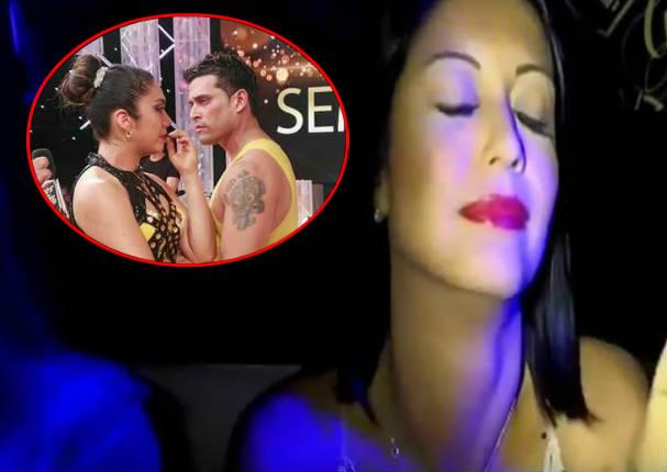 Karla Tarazona reaparece y dijo todo esto de Christian Domínguez y su bailarina - VIDEO