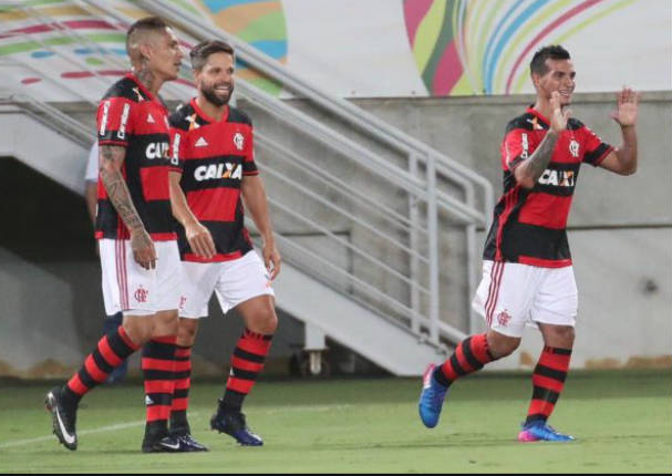 Revive el pase de Trauco para la victoria del Flamengo - VIDEO