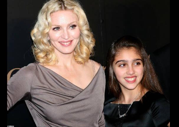 Hija de Madonna ya es toda una señorita y ahora se dedica al modelaje