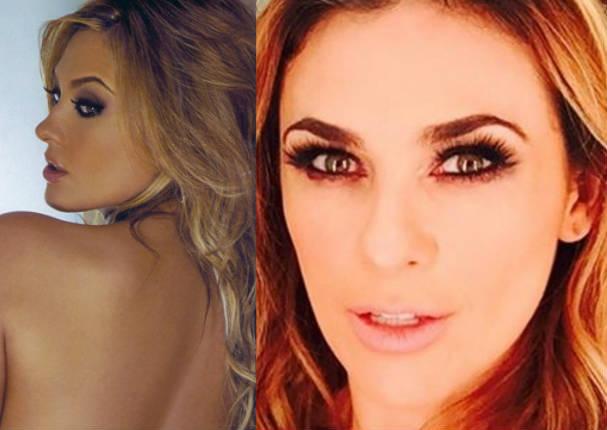 Aracely Arámbula: ¿Filtran video de la actriz cuando se desnudaba? - VIDEO