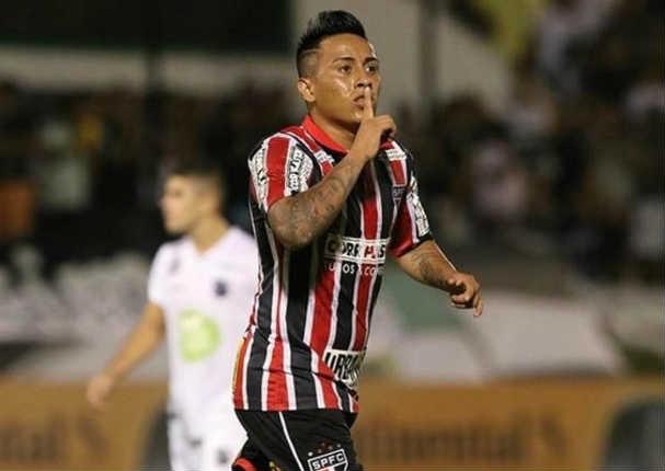 Christian Cueva anota golazo y Sao Paulo empata con ABC