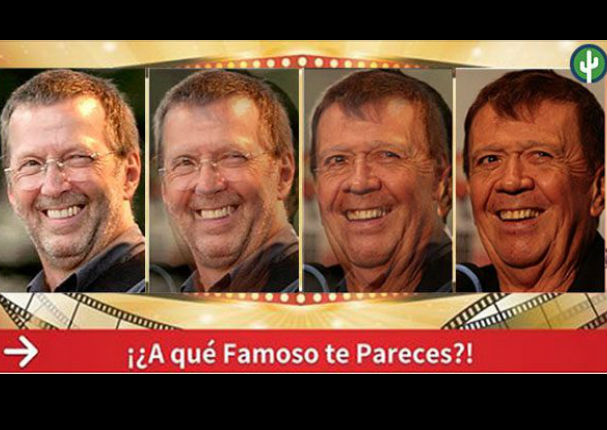 Facebook: ¿A qué famoso te pareces? Descúbrelo