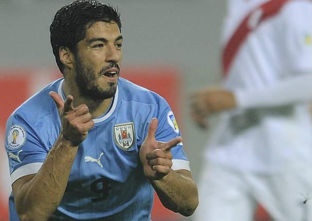 Prensa Uruguaya califica a Suárez como la pesadilla de Perú