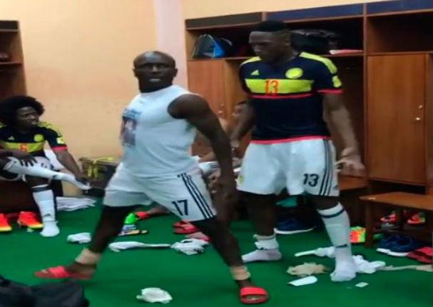 YouTube: Jugadores de Colombia armaron este sensual baile