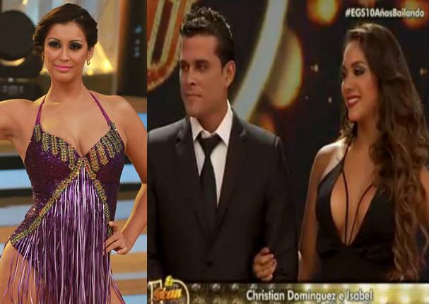 Karla Tarazona le da lección a Christian Domínguez con algo que jamás olvidará
