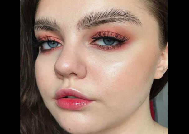 Viral: ¿Cejas de pluma? La nueva tendencia que da que hablar - FOTOS