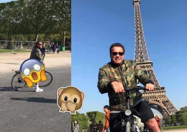 Arnold Schwarzenegger hizo esto en plena calle y se hace viral en redes sociales